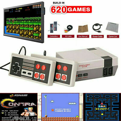 HDMI Mini Retro TV Game Console 8 Bit Classic Built-in 620 Games + 2 Controllers