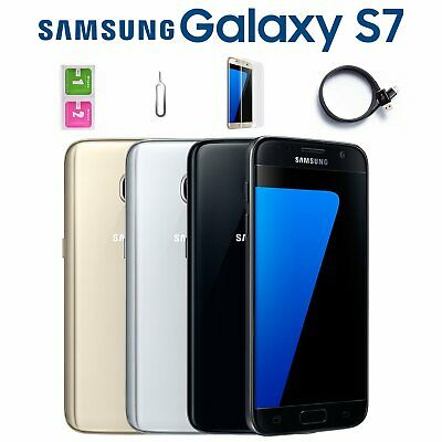 Samsung Galaxy S7 32GB Unlocked Sim Free Android Mobile Smart Phone All Colours
