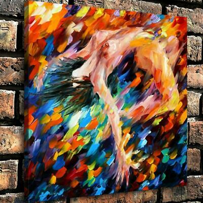 """12""""x12"""" Sexy nude woman HD Canvas prints Home painting Decor Wall art Picture"""