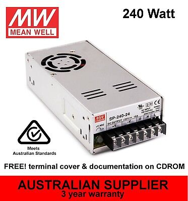 SP-240 Power Supply 240W 5V 7.5V 12V 15V 24V 30V 48V DC - MeanWell