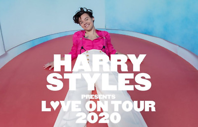 Biglietto PARTERRE Harry Styles 2020 Love on Tour Bologna 16.05.2020