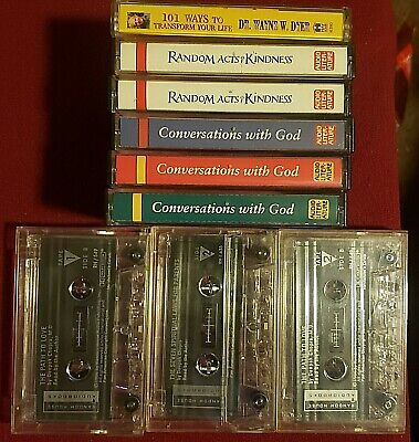 You Pick Cassette Tapes Self Help/Christian/Psychology Bulk Savings/Free S&H