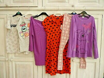 Girls Mixed Clothing Bundle Age 11 12 13 years (Hello Kitty Disney Unicorn)