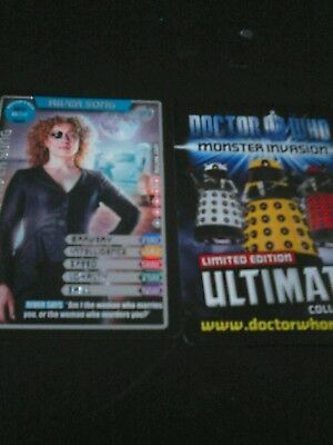 Dr who monster invasion ultimate card number 378 River Song