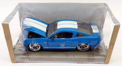 Ford Usa Mustang Coupe 5.0 Gt 2015 Blue Met Welly 1:24 WE24062BL
