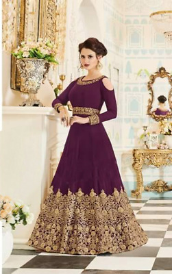 Indian Bollywood Drashti Party Heavy Pakistani Wedding Suit Salwar kameez Gown