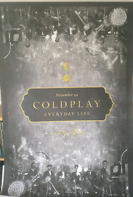 Music Poster: COLDPLAY EVERYDAY LIFE - Album Release Promotional 22/11/2019