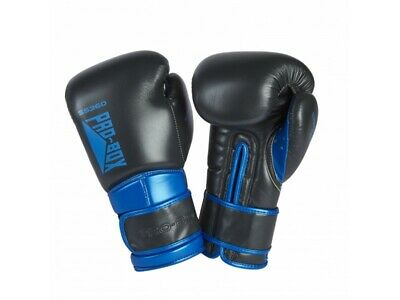 Pro Box Boxing Gloves - Speed Lite Sparring Gunmetal Blue