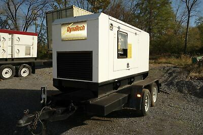 28kW Perkins/FG Wilson Towable, Standby Generator, Super Sound Attenuated Hou...