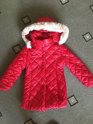 Girls Mayoral Coat Jacket Age 6 Years 116cm