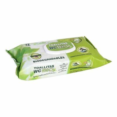 Toallitas Biodegradables Wc (72 uds)