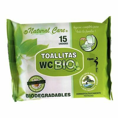 Toallitas Biodegradables Wc (15 uds)