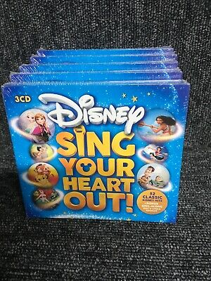 Sing Your Heart Out Disney - Various Artists [New & Sealed] 3 CD Box Set