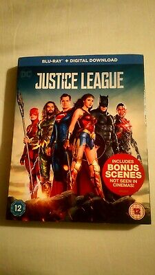 Justice League (Blu-ray, 2017) **LiKe NeW**