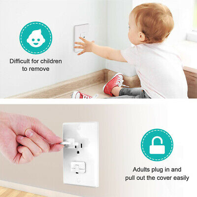 30Pcs Safety Electric Socket Outlet Plug Lock Cover Protector For Childre ÁÁ