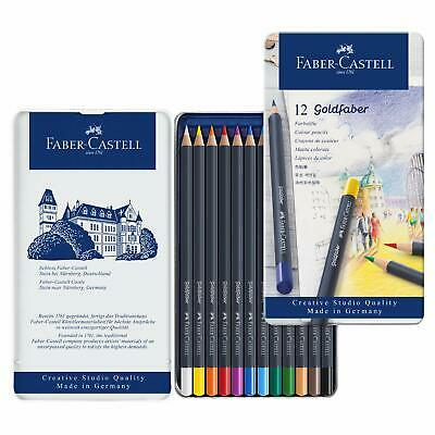 Faber Castell Goldfaber Colour Pencil in Metal Tin (Pack of 12)