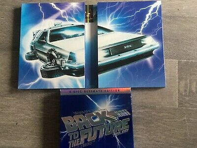 Back To The Future Trilogy (DVD, 2005) 4 Disc Ultimate Edition Michael J Fox
