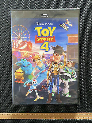 Toy Story 4 (DVD, 2019) Brand NEW FREE FIRST CLASS SHIPPING DISNEY PIXAR