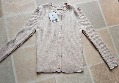 Gorgeous Next Girls Cardigan Long Sleeved Sparkly Material BNWT RRP £15 4 Years