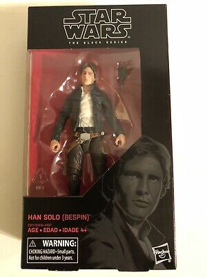 Authentic Hasbro Star Wars Black Series Han Solo Bespin Outfit ESB Figure