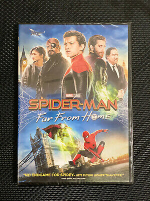 Spider-Man: Far From Home (DVD, 2019) Free Shipping! Marvel Disney
