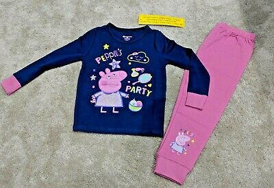 Brand New With Tags Peppa  Pig Pyjamas 3-4 Years Old Childrens Girls Clothes