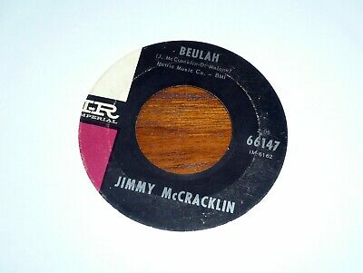 JIMMY McCRACKLIN Beulah / My Answer - Imperial 66147