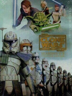 Star Wars The Clone Wars Complete Seasons 1-5 Plus The Lost Missions 19 DVD Set