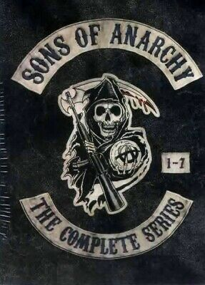 Sons of Anarchy Complete Series 30 Dvd Box Set New Sealed Ship Fast