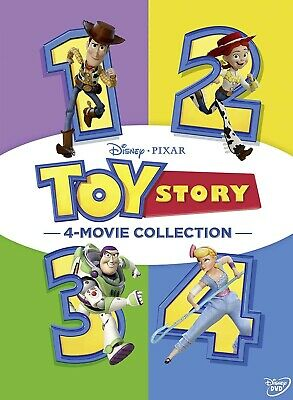 Toy Story 4 Movie Collection 1, 2, 3, 4 DVD Brand New