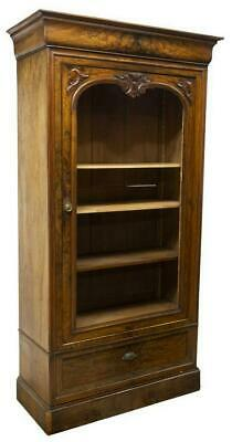 FRENCH LOUIS PHILIPPE SINGLE-DOOR ARMOIRE / DISPLAY, 19th century ( 1800s )