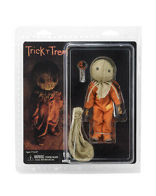 """Trick 'r Treat SAM 8"""" Scale Retro Clothed Action Figure NECA In Stock"""