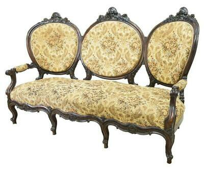 Sofa, Parlor, Italian Louis XV  Style, Rosewood, 1800s, Charming Antique!!