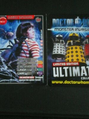 Dr who monster invasion ultimate card number 403 Giant Spiders