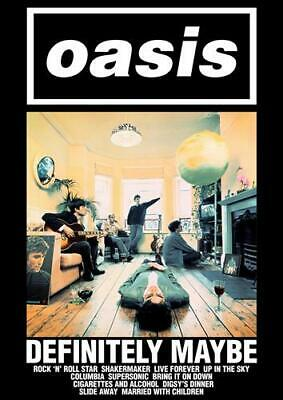 Oasis Dd6 Poster Art Print - A4 A3 A2 A1 A0 Sizes