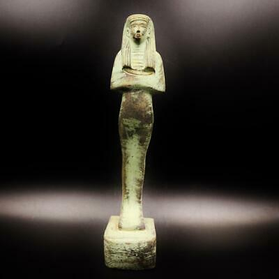 Rare Antique Statue of Ancient Egyptian Queen Ahmose Nefertari God's wife Amun