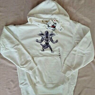 UNIQLO Dragon Ball Frieza 3rd MEN'S Hooded Sweatshirt Hoody Hoodie White XS-3XL