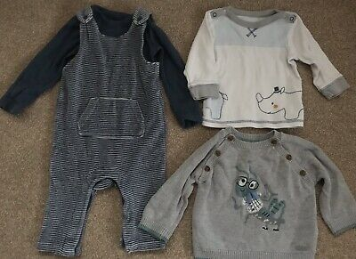 marks and Spencer's baby boy bundle 3-6 months