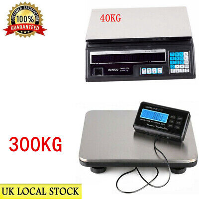 Digital Industrial Postal Parcel Scales Weighing 150kg/300kg Platform Postage UK