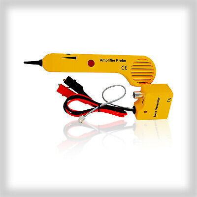 The Amplifier Probe, Cable Tracer Tone Generator & Probe Trace wires & Cables