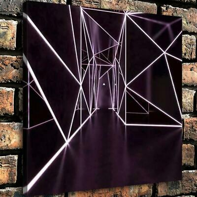 "12""x12""Light art in the corridor HD Canvas prints Painting Home Decor room Wall"