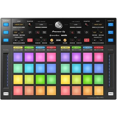 Pioneer DJ DDJ-XP2 rekordbox & Serato DJ DVS Performance Pad Surface Controller