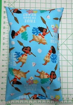 MOANA -  Small Pillow Case with Travel / Toddler Pillow