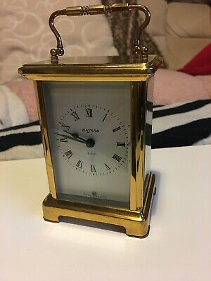 Vintage Original French Bayard Clock In Perfect Working Order