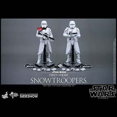 HOT TOYS Snowtrooper + Officer Snowtroopers 1:6 Scale Figure Set NEW DOUBLEBOX