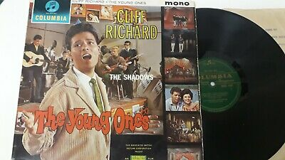 1961 Cliff Richard, Shadows The Young Ones Lp Columbia Mono Green Label 33Sx1384