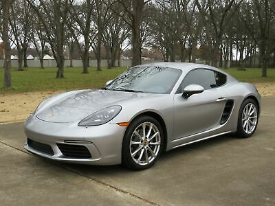 """2018 Porsche 718 Cayman Coupe Cayman Coupe MSRP New $72650 Heated and Cooled Sport Buckets 7-Spd Transmission 19"""" Wheels Premium Pkg"""