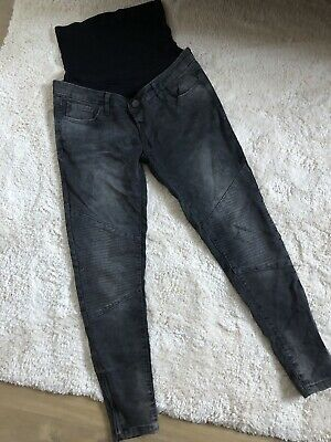 MOTHERCARE BLOOMING MARVELLOUS MATERNITY Over the Bump Skinny Jeans Size 10