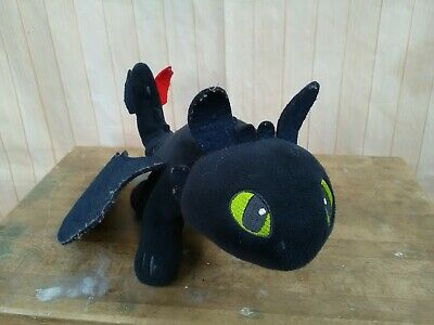 """How To Train Your Dragon 12""""  TOOTHLESS Night Fury Plush Toy"""