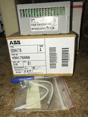 ABB Type S200-IT8  PN: 490176088 Thermocouple Input 8 Channel